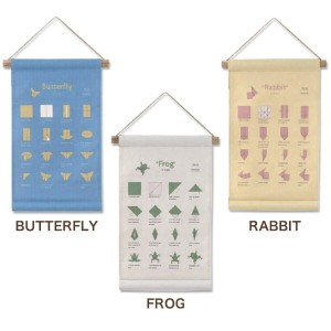 BUTTERFLY/FROG/RABBIT タペストリー
