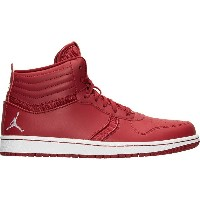 ナイキ メンズ バスケットボール スポーツ Men's Air Jordan Heritage Basketball Shoes Gym Red/White