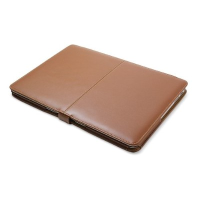 PDAIR レザーケース for MacBook Air 13インチ(Mid 2011/Late 2010) 横開きタイプ(ブラウン) PALCMBA13LB/BR