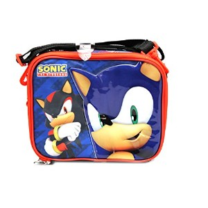 1x Black Sonic the Hedgehog And Shadow Lunch Bag