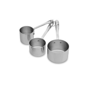 all-clad stainless-steel odd-size Measuring Cup Set