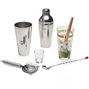 Libbey 9-Piece Cool Cocktails Mixologist Set by Libbey