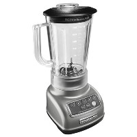 KitchenAid KSB1570SL 5-Speed Blender with 56-Ounce BPA-Free Pitcher - Silver by KitchenAid