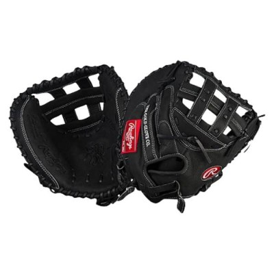 ローリングス レディース 野球 グローブ【Rawlings Heart of the Hide Fastpitch Catch Mitt】Black