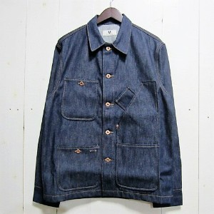 tellason テラソン [tellason stock][coverall jacket][denim][14oz]