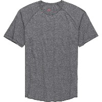 ブリクストン メンズ Tシャツ トップス Brixton Basic Baseball T-Shirt - Men's Heather Grey