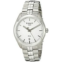 ティソ Tissot 腕時計 メンズ 時計 Tissot Men's T1014101103100 Analog Display Quartz Silver Watch