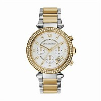 マイケルコース Michael Kors レディース 腕時計 時計 Michael Kors Parker Ladies Watch - Silver/Gold