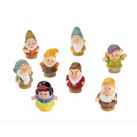 LITTLE PEOPLE DISNEY SNOW WHITE & 7 DWARFS FIGURES