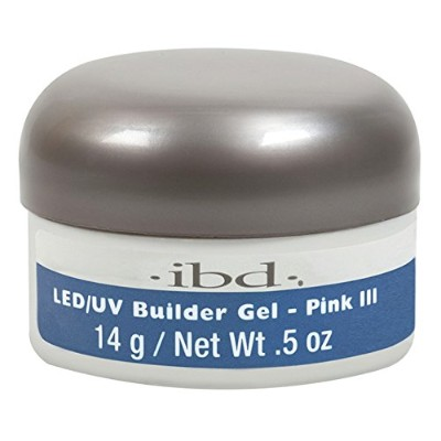 ibd LED/UV Gel - Pink III - 0.5oz / 14g
