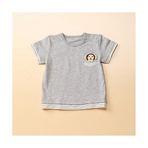 COMME CA FOSSETTE/コムサ・フォセット  動物半袖Tシャツ(2021TZ01) ライトグレー 【三越・伊勢丹/公式】 キッズファッション~~その他