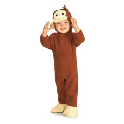Curious George Infant Costume おさるのジョージ幼児コスチューム サイズ:Infant (6-12 months)