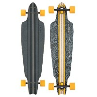 GLOBE HG Prowler Cruiser Skateboard, Black/Yellow/Tailspin by GLOBE HG