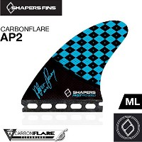 (シェイパーズ フィン) SHAPERS FIN【Carbon Flare AP02】Asher Pacey Signature Model FUTURE 3フィン