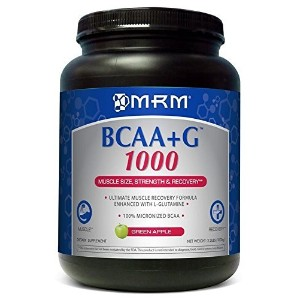 BCAA + G 1000g Ultimate Recovery Formula - Green Apple MRM (Metabolic Response Modifiers) 1000 g...