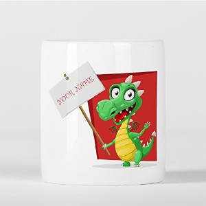 Customized Dragon Name Tag Children Kids Personalised 貯金箱