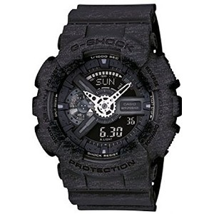 [カシオ]Casio 腕時計 GShock Analog/Digital XLarge Watch Heather Black GA110HT1A GA-110HT-1ACR [並行輸入品]