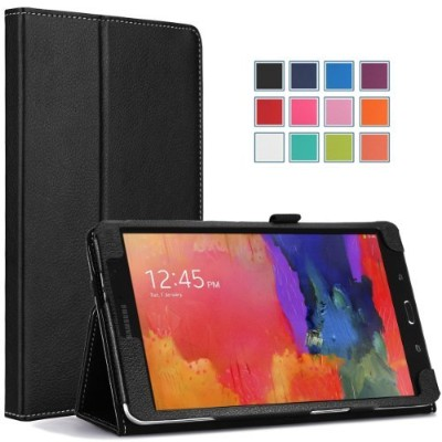 MoKo Slim Folding Cover Case for Samsung Galaxy Tab Pro 8.4 (BLACK)
