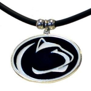 NCAA Penn State Nittany Lionsゴムコードネックレス