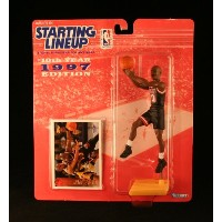 Tim Hardaway / Miami Heat * 1997 * NBA Kenner Starting Lineup & ExclusiveコレクターTopps Tradingカード