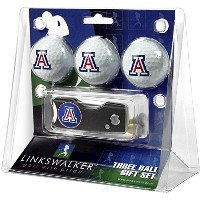 Arizona Wildcatsゴルフボールギフトパックwith Spring Action Divot Tool