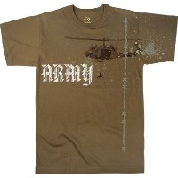 Rothco Vintage Army Copter Tシャツ L