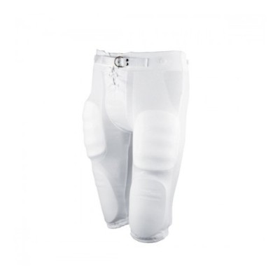 Wilson Youth Football Practice Pant with Snaps – ホワイト(パッドは含まれません