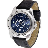 """Penn State Nittany Lions NCAA AnoChrome """" Sport """" Mens Watch (レザーバンド)"""
