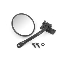 Rugged Ridge 11025.10 Quick Release Mirror Relocation Kit, Black, 97-14 Jeep Wrangler