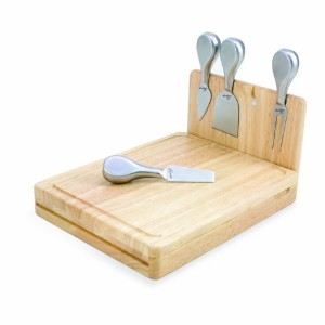 NFL Minnesota Vikings Asiago Folding Cheese Serving Set