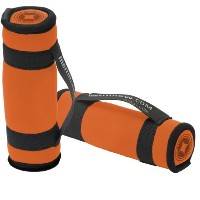 MERRITHEW Soft Dumbbells Pair 2.2LBS (1.1Lbs/Each) - Orange  ソフトダンベル(2個)  2×0.5kg