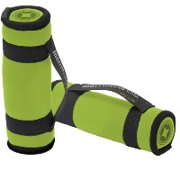 MERRITHEW Soft Dumbbells Pair 4.4 LBS (2.2Lbs/Each) - Lime  ソフトダンベル(2個)  2×1.0kg