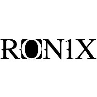 Ronix 9 Logo Decal Black by Ronix