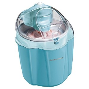 Hamilton Beach 68322 Ice Cream Maker, 1.5-Quart, Blue [並行輸入品]