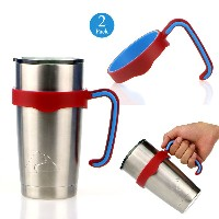 EEEKit 2 Pcs Tumbler Handle for Ozark Trail 20-Ounce Yeti Rambler 20 oz Rambler Sic Cup and more 20o