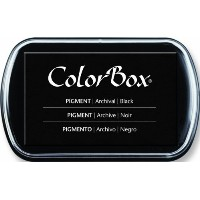 Clearsnap ColorBox Pigment Inkpad, Black by CLEARSNAP [並行輸入品]