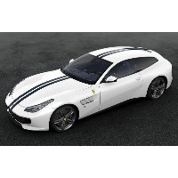 Amalgam Collection 1:18 フェラーリ 跳ね馬誕生70周年記念 限定モデルカー09. The White Spider inspired by 1953 Ferrari 375...