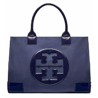 【トリーバーチ】 TORY BURCH ナイロン ミニ エラー トートNYLON MINI ELLA TOTE (ELLA MINI TOTE, FRENCH NAVY)