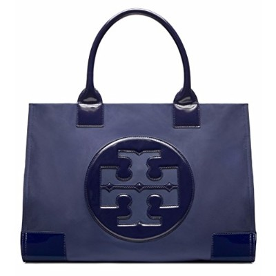【トリーバーチ】 TORY BURCH ナイロン トートバッグ NYLON ELLA TOTE (ELLA TOTE, FRENCH NAVY)
