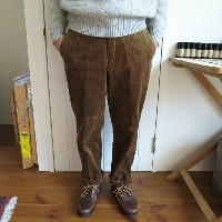 ENDS and MEANS Cord Grandpa Trousers エンズアンドミーンズ コーデュロイ グランパ トラウザー