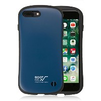 【ROOT CO.】iFace iPhone7Plus iPhone8Plus ケース 耐衝撃 / Gravity Shock Resist Case.(ネイビー)