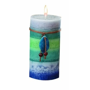 DecoGlow Soothing 3-Inch by 6-Inch Pillar Candle [並行輸入品]