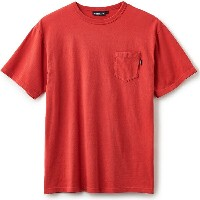 【INTERBREED】(インターブリード)RUSTED SS TEE(RED)