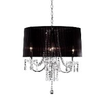 OK-5111h 15-Inch Crystal Drop Chandelier by OK Lighting