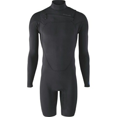 パタゴニア メンズ サーフィン スポーツ R1 Lite Yulex Front-Zip Long-Sleeve Spring Suit - Men's Black