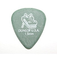 JIM DUNLOP 417R GATOR GRIP STD GREEN 1.50 ピック×12枚