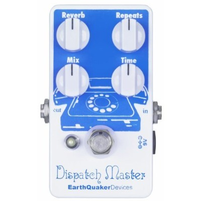 【 並行輸入品 】 EarthQuaker Devices Dispatch Master Delay and Reverb ギターエフェクトペダル