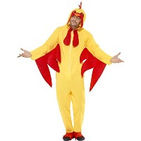 Chicken Costume Man Fancy Dress