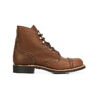 Red Wing Shoes - レースアップブーツ - women - レザー/rubber - 10
