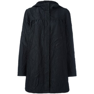 Moncler Gamme Rouge - ペイズリー柄 パーカーコート - women - シルク/ナイロン/ポリエステル - 3